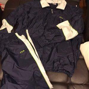 Fila wind suit